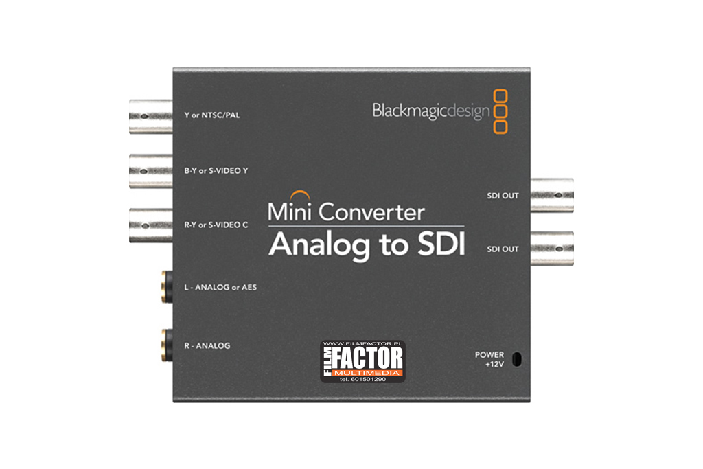 Mini Converter Analog do SDI